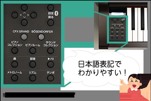 操作しやすい日本語パネル