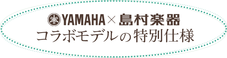 ヤマハ×島村楽器コラボモデルの特別仕様