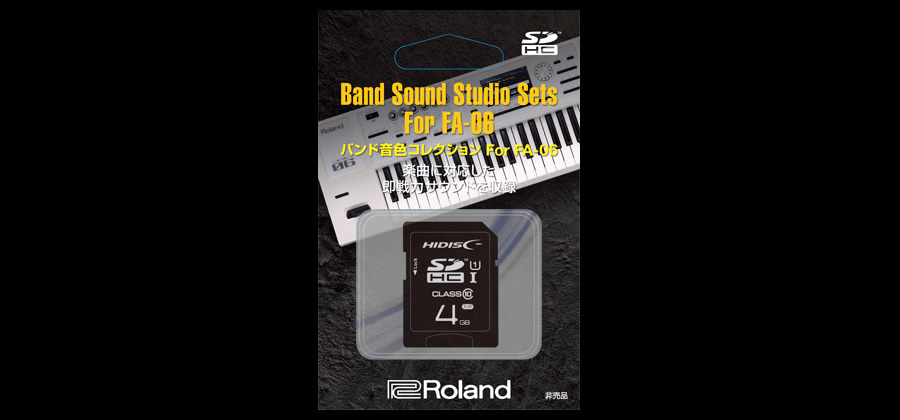 Band Sound Studio Sets For FA-06