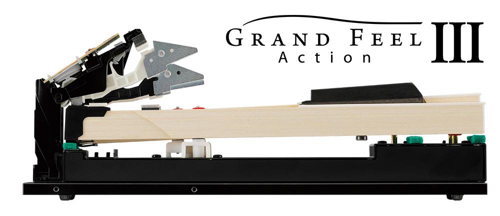 シーソー式木製鍵盤グランド・フィール・アクション V
