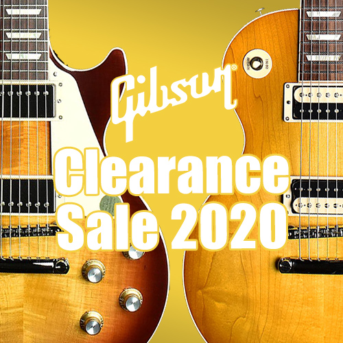 Gibson Clearance Sale 2020