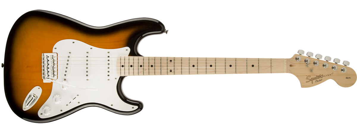 Affinity Series Stratocaster 全体