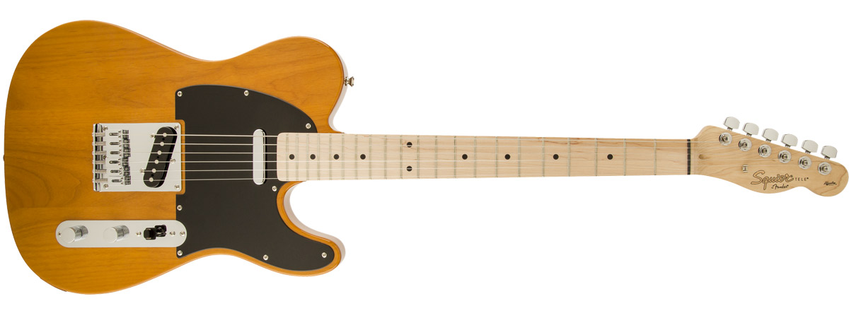 Affinity Series Telecaster 全体