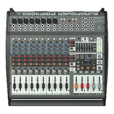 BEHRINGER EUROPOWER PMP4000 16ch パワードミキサー 【ベリンガー】【正規輸入品】