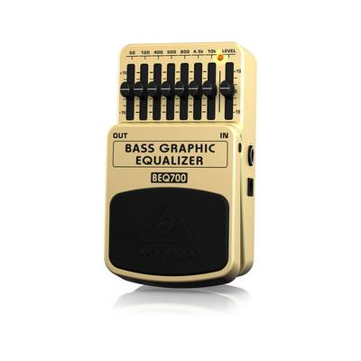 BEHRINGER BASS GRAPHIC EQUALIZER BEQ700 ベース用 グラフィックイコライザ エフェクター 【ベリンガー】
