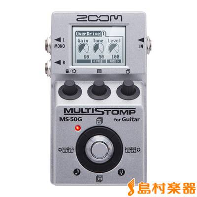 ZOOM MS-50G for Guitar MULTISTOMP 【ズーム MS50G】