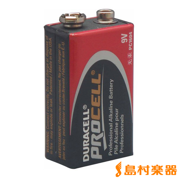 DURACELL PC1604 9V電池/PROCELL 【デュラセル】