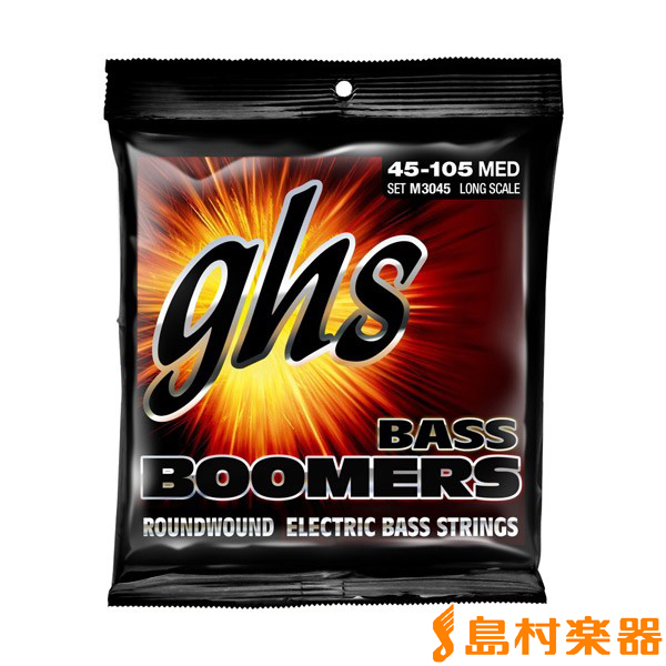 ghs M3045 エレキベース弦 Boomers 045-105 LIGHT