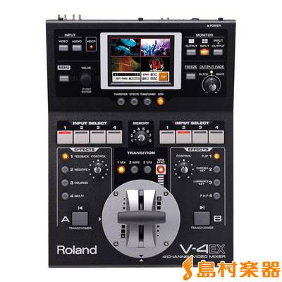 Roland V-4EX 4-Channel Video Mixer 【ローランド V4EX】