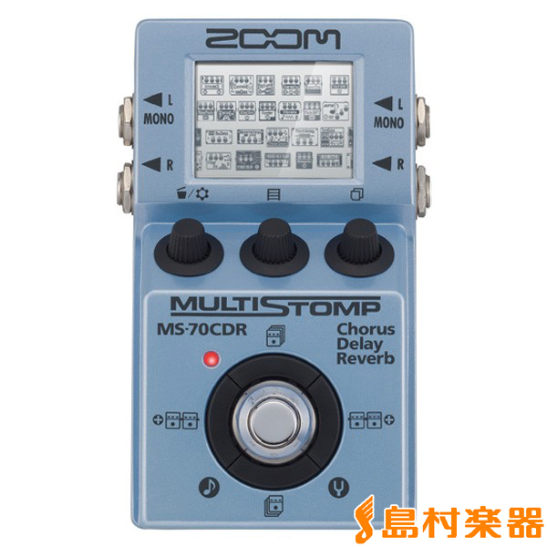 ZOOM MS-70CDR (MS70CDR ) マルチエフェクター 【ズーム】