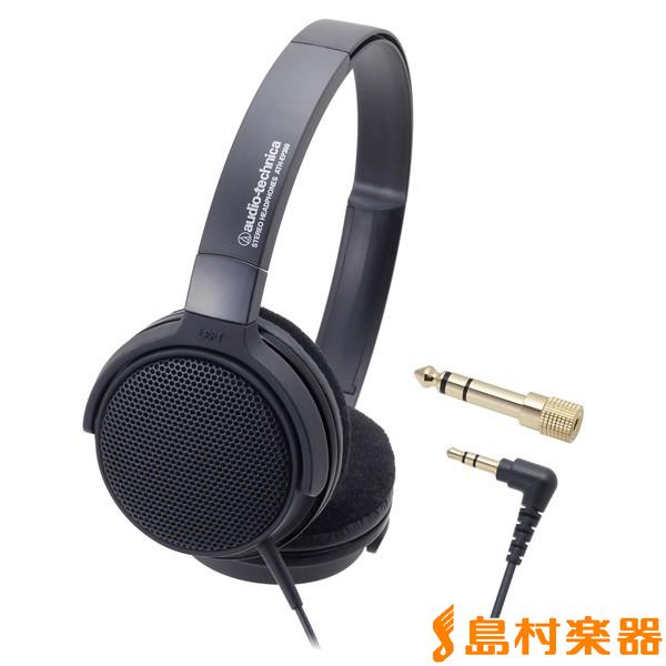audio-technica オーディオテクニカ ATH-EP300 BK ブラック 電子ピアノ用ヘッドホン オープンエアー型 ATHEP300