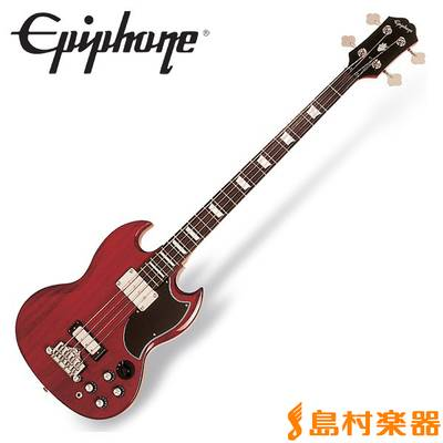 Epiphone Ebony-3 Bass Cherry ベース 【エピフォン】