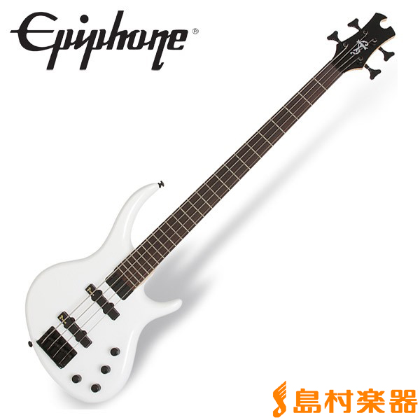 Epiphone Toby Standard IV Alpine White ベース 【エピフォン】