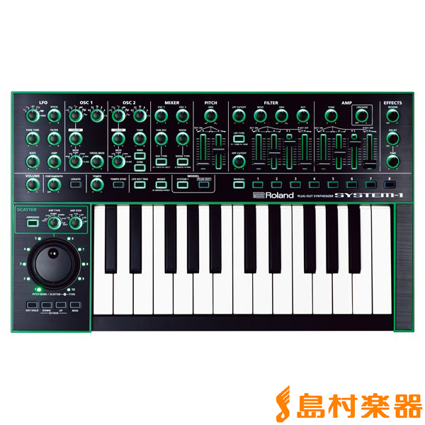 Roland AIRA SYSTEM-1 シンセサイザー PLUG OUT Synthesizer 【ローランド SYSTEM1】