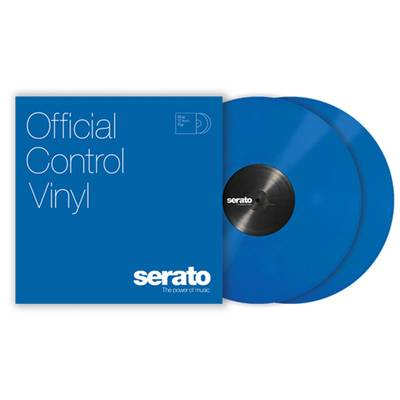 Serato Control Vinyl Performance Series [ Blue] ブルー 2LP Scratch Live用コントロールバイナル 【セラート】