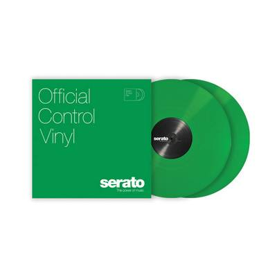Serato Control Vinyl Performance Series [ Green] グリーン 2LP Scratch Live用コントロールバイナル 【セラート】
