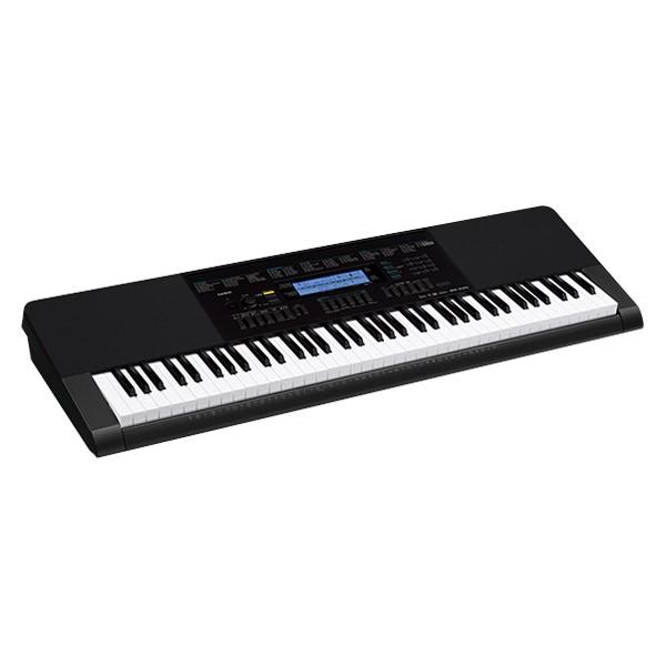 キーボード 電子ピアノ CASIO WK-245 キーボード 76鍵盤 【カシオ ...