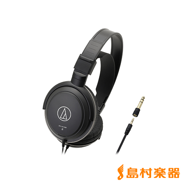 audio-technica オーディオテクニカ ATH-AVC200 密閉ダイナミック型ヘッドホン