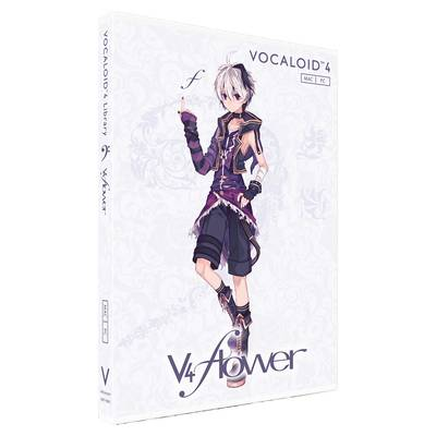 Gynoid VOCALOID4 Library v4 flower 単体版 ボーカロイド 【ガイノイド】【国内正規品】