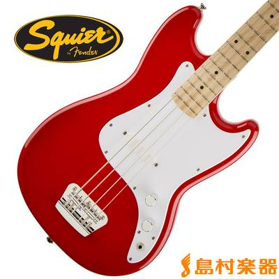 Squier by Fender Bronco Bass Maple Fingerboard TRD(トリノレッド) ベース 【スクワイヤー / スクワイア】