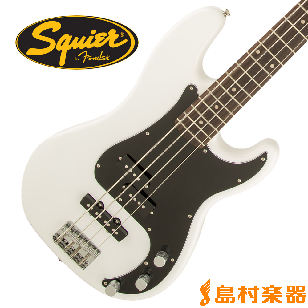 Squier by Fender Affinity Series Precision Bass PJ Rosewood Fingerboard OWT(オリンピックホワイト) プレシジョンベース 【スクワイヤー / スクワイア】