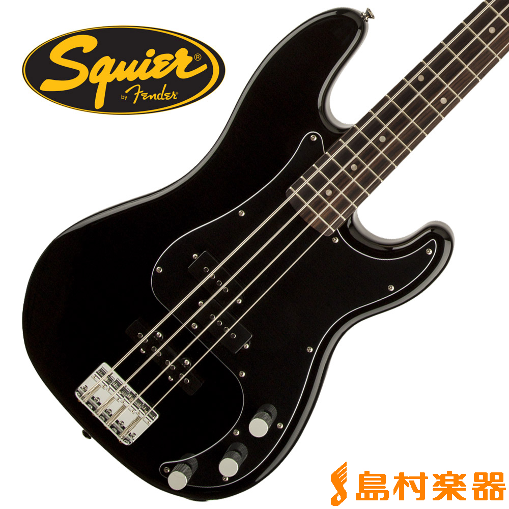 Squier by Fender Affinity Series Precision Bass PJ Rosewood Fingerboard BLK(ブラック) プレシジョンベース 【スクワイヤー / スクワイア】