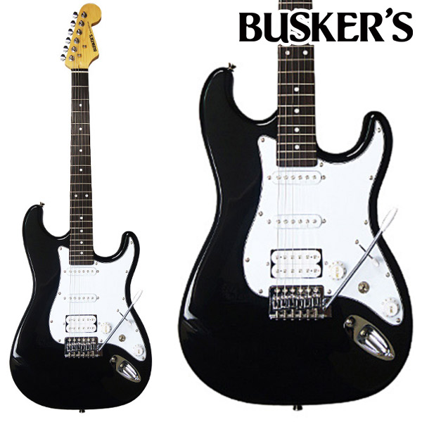 BUSKER'S BST-3H BK エレキギター 【バスカーズ】