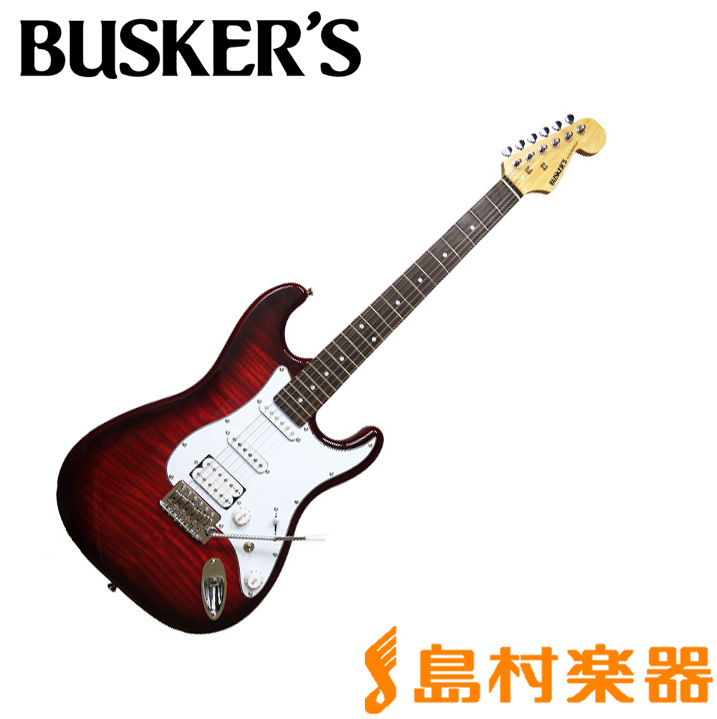 BUSKER'S BST-3H/FM TRD エレキギター 【バスカーズ】