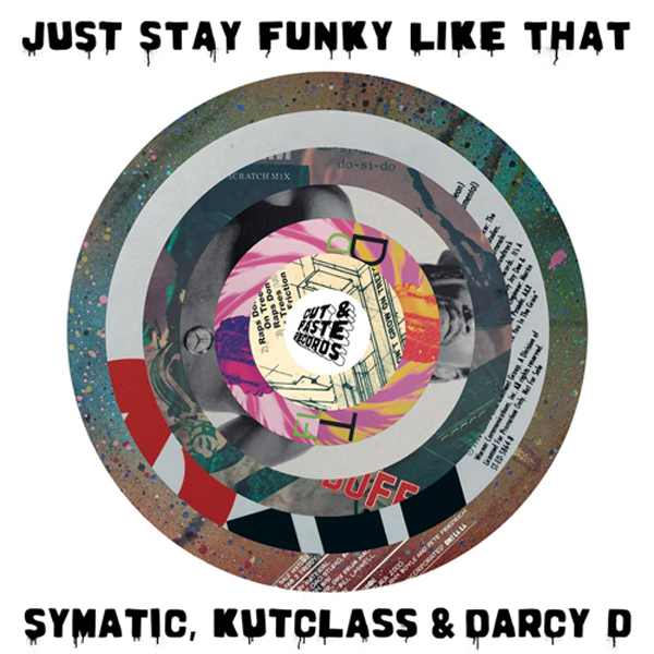 Just Stay Funky Like That バトルブレイクス 7インチ 【Cut & Paste Records】