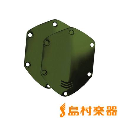 V-MODA CUSTOM SHIELDFOR ONEAR HEADPHONE MATTE GREEN 交換用カスタムパネル 【ブイモーダ】
