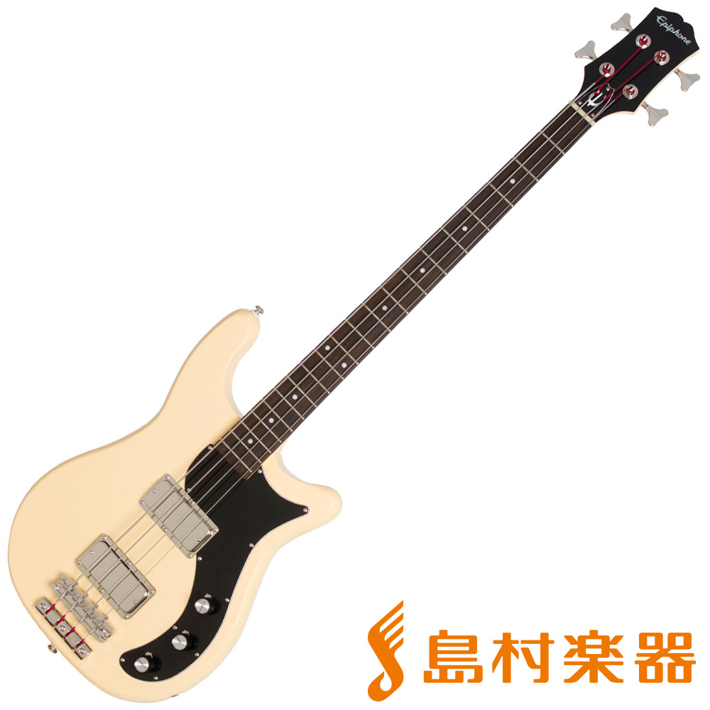 Epiphone Embassy PRO Bass Antique Ivory エレキベース 【エピフォン】
