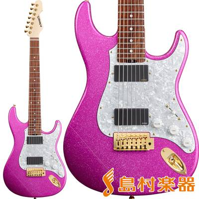 EDWARDS E-SN7-210TO Twinkle Pink Produced by Takayoshi Ohmura 【エドワーズ ESN7210TO】【大村孝佳モデル】【7弦】