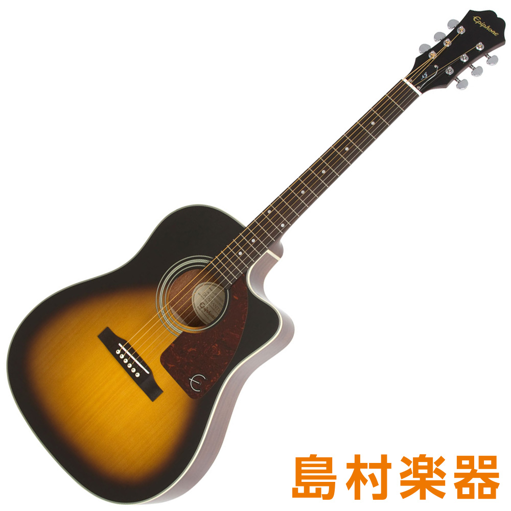Epiphone AJ-210CE Outfit VS アコースティックギター 【エピフォン】