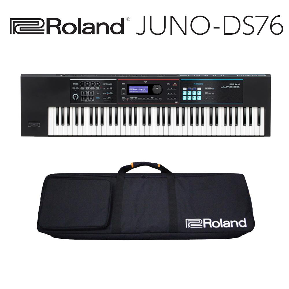 Roland JUNO-DS76   人気のJUNO シリーズに76鍵モデルが登場
