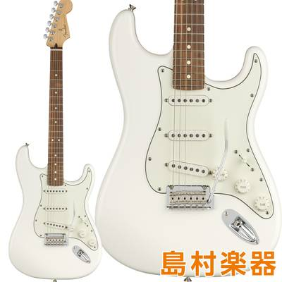 Fender Player Stratocaster Pau Ferro Fingerboard Polar White エレキギター 【フェンダー】