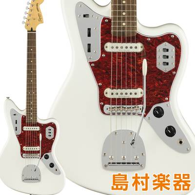Squier by Fender Vintage Modified Jaguar Laurel Fingerboard Olympic White エレキギター ジャガー 【スクワイヤー / スクワイア】