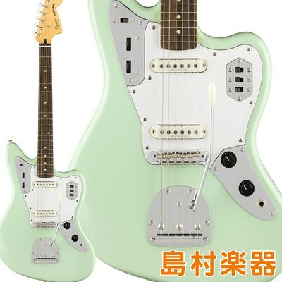 Squier by Fender Vintage Modified Jaguar Laurel Fingerboard Surf Green エレキギター ジャガー 【スクワイヤー / スクワイア】