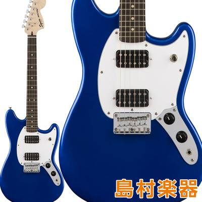 Squier by Fender Bullet Mustang HH Laurel Fingerboard Imperial Blue エレキギター ムスタング 【スクワイヤー / スクワイア】
