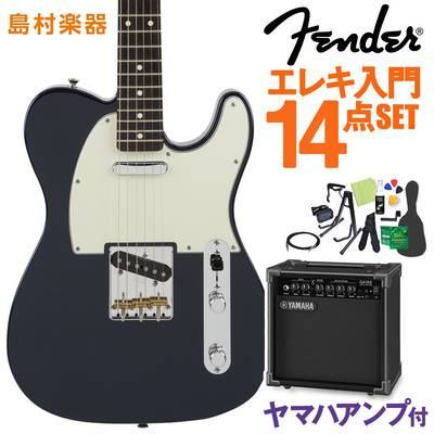 Fender Made in Japan Hybrid 60s Telecaster Midnight Blue エレキギター 初心者14点セット 【ヤマハアンプ付き】 【フェンダー】【オンラインストア限定】
