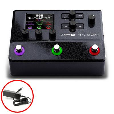 LINE6 HX Stomp ギター・プロセッサー 【電源アダプター付属】