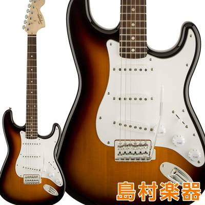 Squier by Fender Affinity Series Stratocaster Laurel Fingerboard Brown Sunburst エレキギター ストラトキャスター 【スクワイヤー / スクワイア】