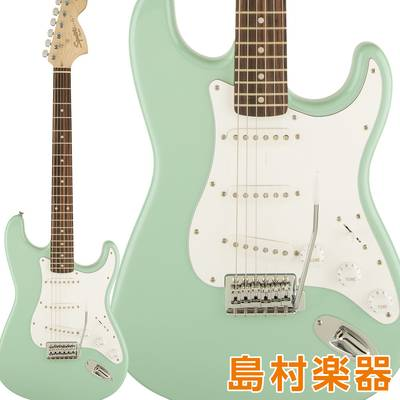 Squier by Fender Affinity Series Stratocaster Laurel Fingerboard Surf Green エレキギター ストラトキャスター 【スクワイヤー / スクワイア】