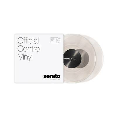 "Serato 10"" Control Vinyl [Clear] 2枚組 Scratch Live用 コントロールバイナル 10インチ 【セラート SCV-PS-CLE-10】"