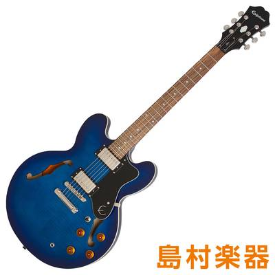 Epiphone Limited Edition Dot Deluxe Blueberry Burst エレキギター 【エピフォン】