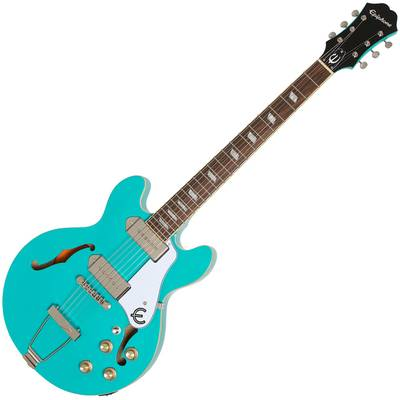 Epiphone CASINO Coupe Turquoise エレキギター 【エピフォン】
