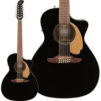 Fender Villager 12-String Walnut Fingerboard Black V3 12弦ギター 【フェンダー】