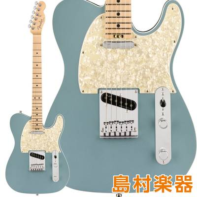 Fender American Elite Telecaster Maple Fingerboard Satin Ice Blue Metallic エレキギター 【フェンダー】