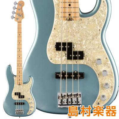 Fender American Elite Precision Bass Maple Fingerboard Satin Ice Blue Metallic エレキベース 【フェンダー】
