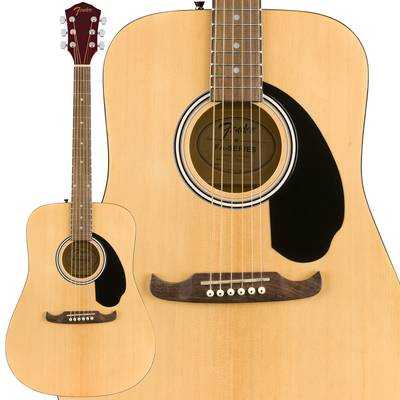 Fender FA-125 Dreadnought w/bag Walnut Natural アコースティックギター 【フェンダー】