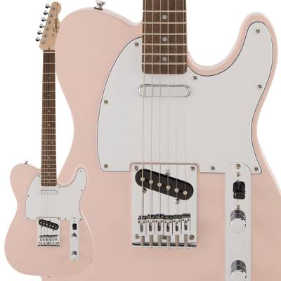 Squier by Fender FSR Affinity Series Telecaster Laurel Fingerboard Shell Pink エレキギター テレキャスター 【スクワイヤー / スクワイア】【数量限定品】
